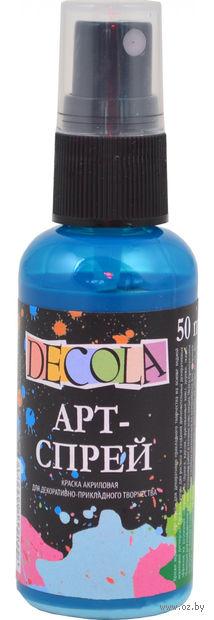 "Краска-спрей ""Decola"" (бирюзовая; 50 мл) — фото, картинка"