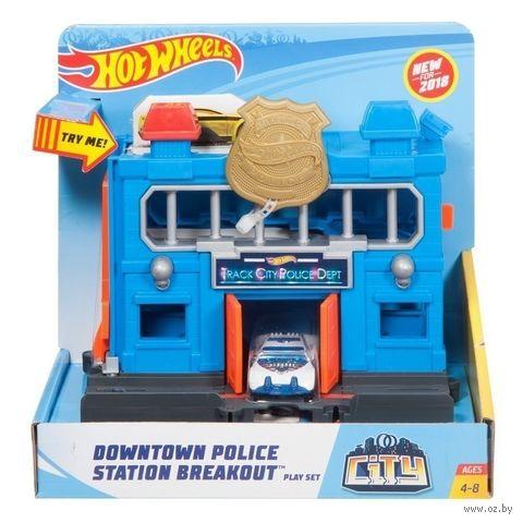 """Игровой набор """"Hot Wheels. Полицейский участок"""" — фото, картинка"""