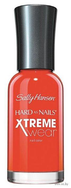 "Лак для ногтей ""Hard as nails xtreme wear"" (тон: 170, огненно-оранжевый) — фото, картинка"