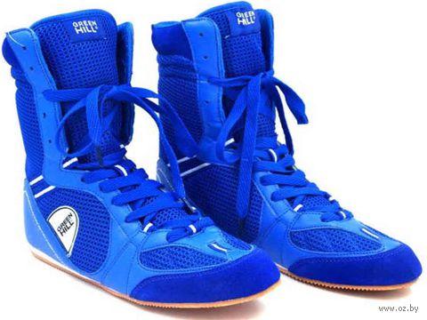 Обувь для бокса PS005 (р. 38; синяя) — фото, картинка