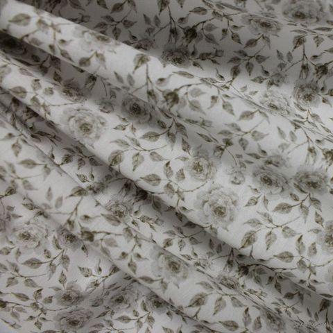"""Ткань """"Красивые розы"""" (48х50 см; арт. AM585002) — фото, картинка"""