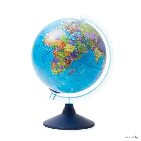 Глобус (политический; с подсветкой; 250 мм) — фото, картинка