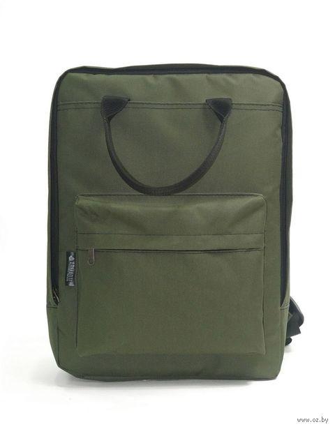 Рюкзак (оливковый; арт. P-1108) — фото, картинка