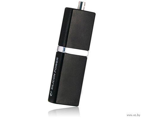 USB Flash Drive 8Gb Silicon Power Luxmini 710 (Black)