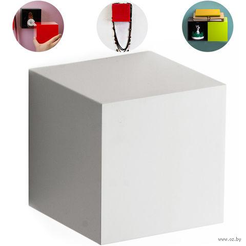 """Полка-вешалка """"Pixel"""" (белая)"""