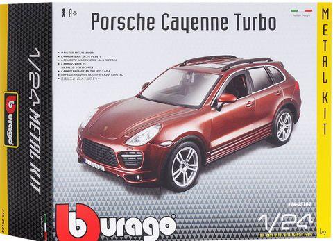 "Модель машины ""Bburago. Porche Cayenne Turbo"" (масштаб: 1/24)"