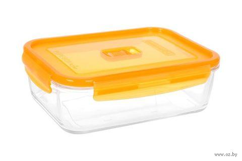 Контейнер для еды (0,38 л; оранжевый) — фото, картинка