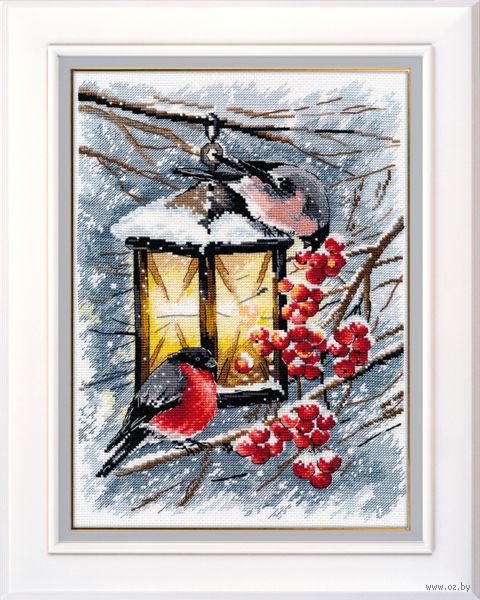 """Вышивка крестом """"Рождественский свет"""" (200х280 мм) — фото, картинка"""