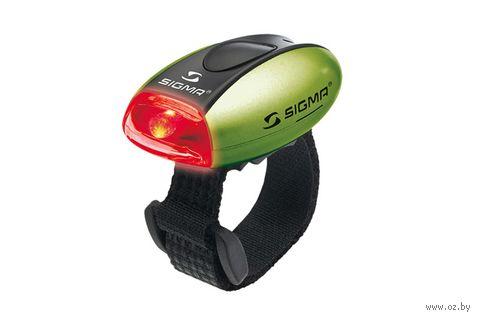 """Фонарь задний для велосипеда """"Micro"""" (зелёный) — фото, картинка"""