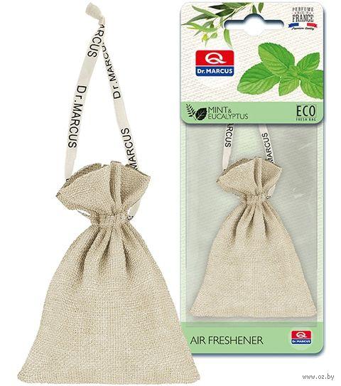 "Ароматизатор подвесной сухой ""Dr.Marcus Eco Fresh Bag"" (Mint&Eucalyptus; арт. 24695) — фото, картинка"
