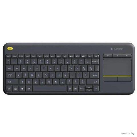 Клавиатура Logitech Wireless Touch Keyboard K400 Plus — фото, картинка