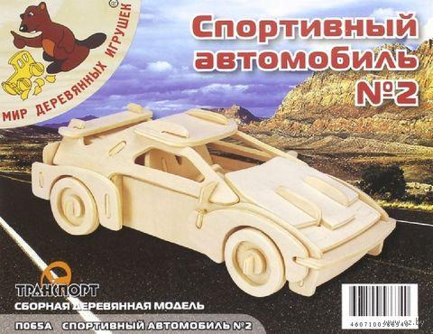 """Сборная деревянная модель """"Феррари"""""""