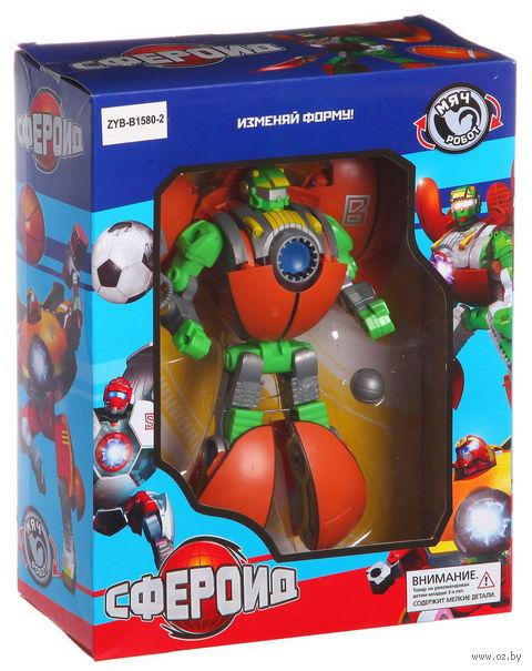 """Робот-трансформер """"Сфероид"""" (арт. ZYB-B1580-2) — фото, картинка"""