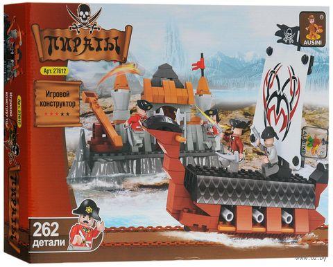 """Конструктор """"Пираты. Осада малого форта"""" (262 детали) — фото, картинка"""