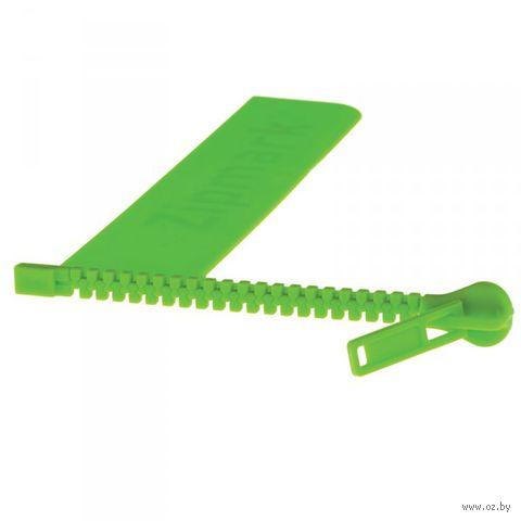 """Закладка """"Zipmark"""" (зеленая)"""