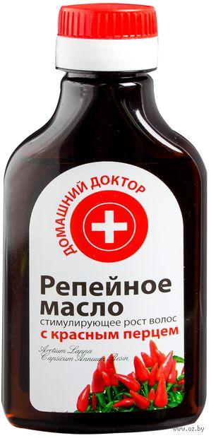 """Масло для волос """"Репейное с красным перцем"""" (100 мл)"""