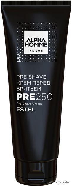 "Крем перед бритьем ""Pre-Shave"" (250 мл) — фото, картинка"
