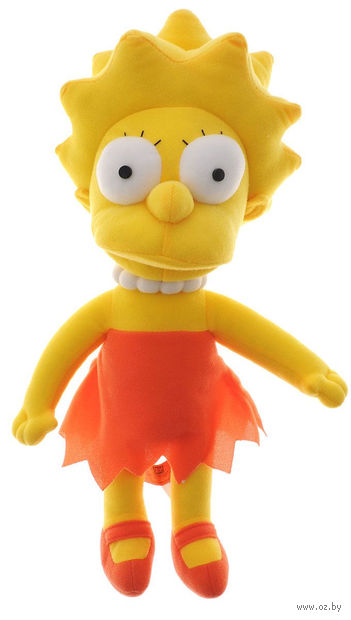 """Мягкая игрушка """"Лиза Симпсон"""" (37 см)"""
