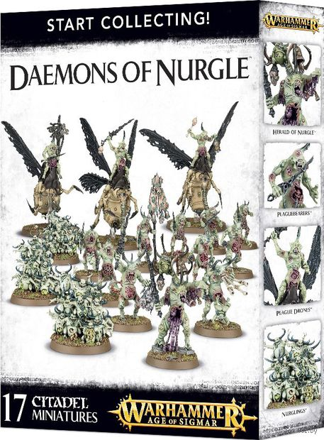 Warhammer Age of Sigmar. Daemons Of Nurgle. Start Collecting (70-98) — фото, картинка