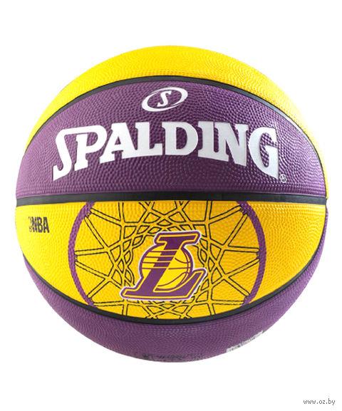 "Мяч баскетбольный ""Team Lakers"" №7 — фото, картинка"
