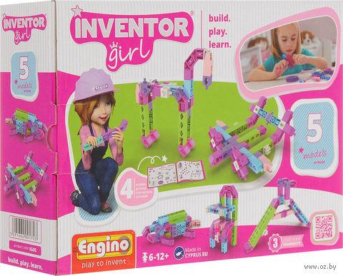 """Конструктор """"Inventor Girl. 5 моделей"""" (50 деталей) — фото, картинка"""