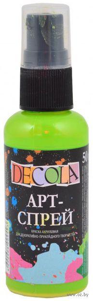 """Краска-спрей """"Decola"""" (лайм; 50 мл) — фото, картинка"""