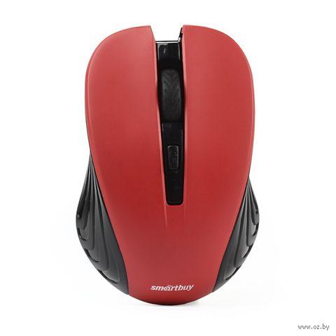 Мышь беспроводная Smartbuy ONE 340AG (бордовая) — фото, картинка