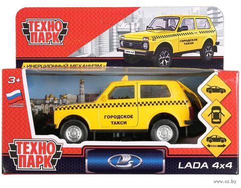 "Модель машины ""Lada 4x4. Такси"" (арт. LADA4X4-T) — фото, картинка"
