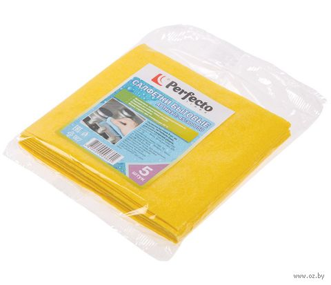 Набор салфеток для уборки (5 шт.; 300х340 мм) — фото, картинка