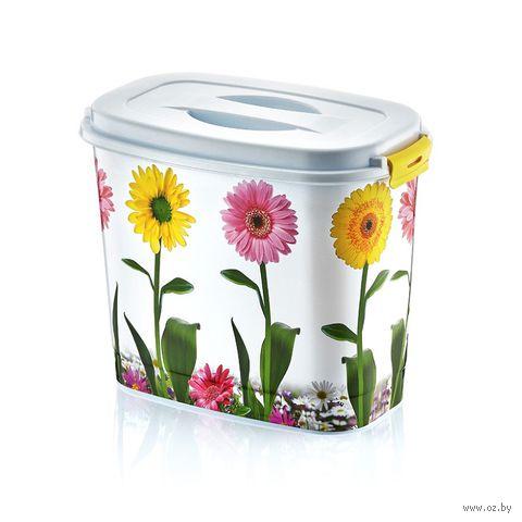 Контейнер для моющего средства пластмассовый (2,2 л; 20х14х16 см; арт. D016-X06)