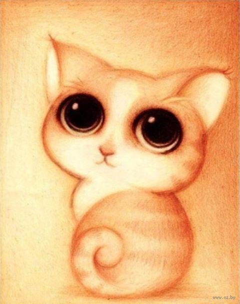 """Алмазная вышивка-мозаика """"Милый котенок"""""""