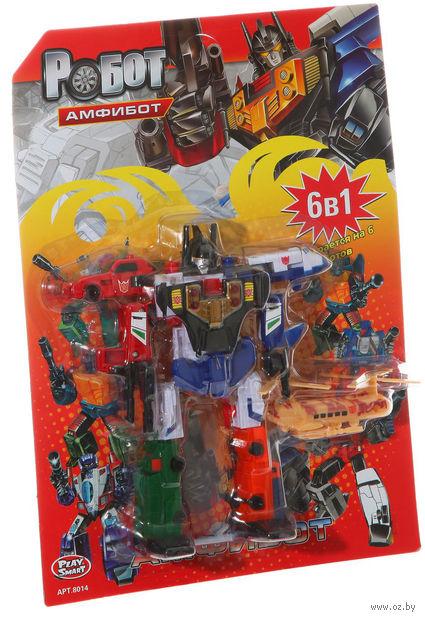 """Робот-трансформер """"Амфибот. 6 в 1"""""""