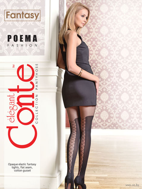 "Колготки женские фантазийные ""Conte. Poema"""