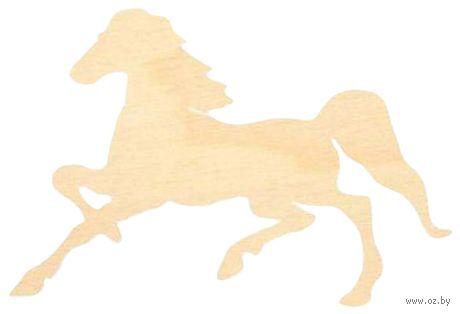 """Заготовка деревянная """"Лошадь"""" (150 мм) — фото, картинка"""