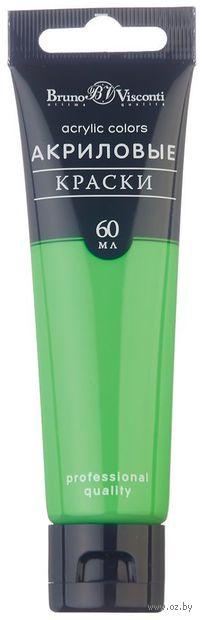 Краска акриловая (светло-зеленая; 60 мл) — фото, картинка