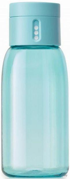 "Бутылка для воды ""Dot"" (400 мл; бирюзовая) — фото, картинка"