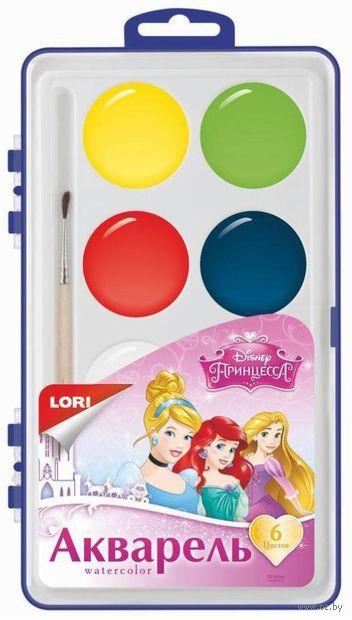 """Акварель """"Disney. Принцессы"""" (6 цветов) — фото, картинка"""