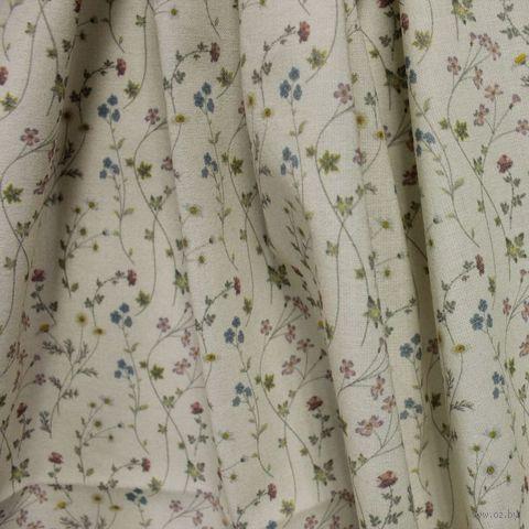 """Ткань """"Полевые цветы"""" №2 (48х50 см) — фото, картинка"""
