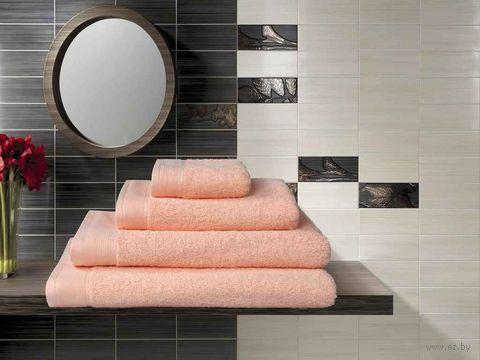 Полотенце махровое (70x140 см; персик) — фото, картинка