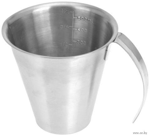 Стакан мерный металлический (500 мл)