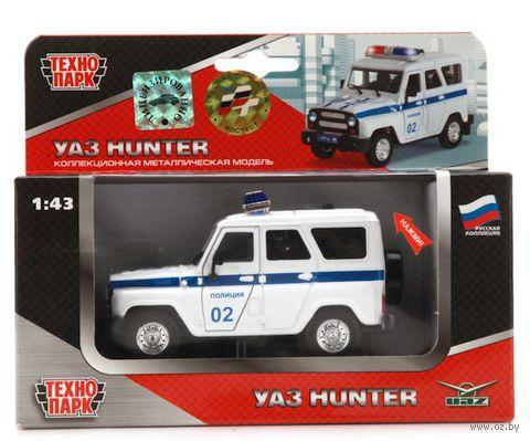 "Модель машины ""Уаз Hunter. Полиция"" (масштаб: 1/43)"