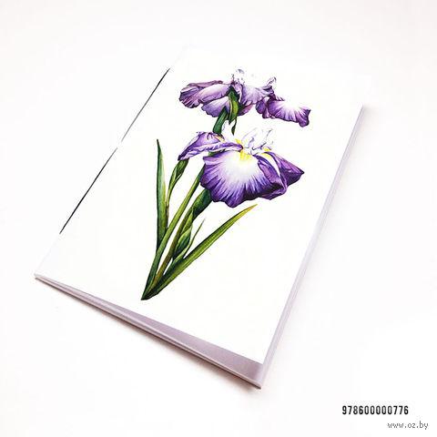 """Блокнот """"Ирисы"""" (А7; арт. 776) — фото, картинка"""