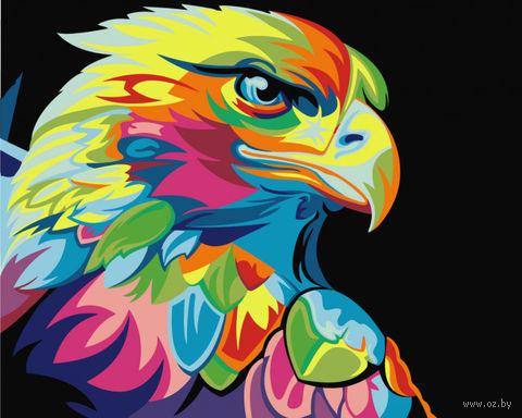 "Картина по номерам ""Ваю Ромдони. Радужный орел"" (400х500 мм) — фото, картинка"