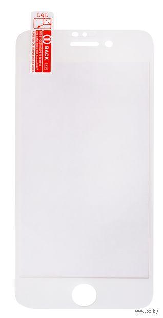 Защитное стекло Olmio для iPhone 7/8 (038547) (белое) — фото, картинка