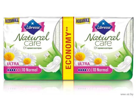 """Гигиенические прокладки Libresse Natural Care """"Ultra Normal"""" (20 шт)"""