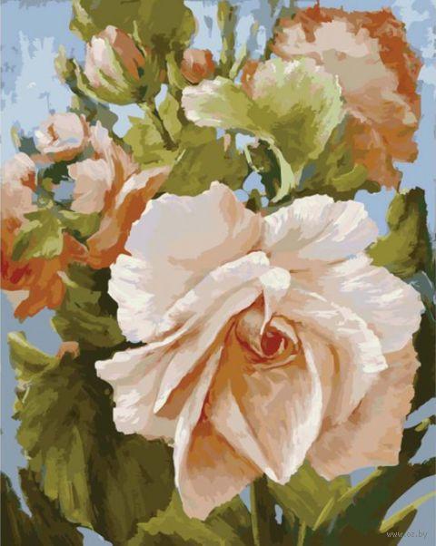"Картина по номерам ""Роза"" (400х500 мм)"