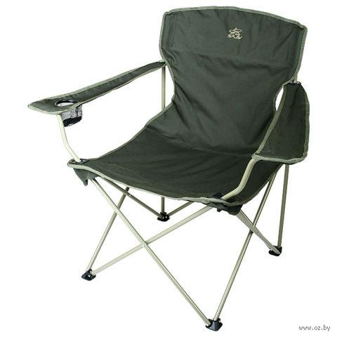 Кресло кемпинговое складное (оливковый)