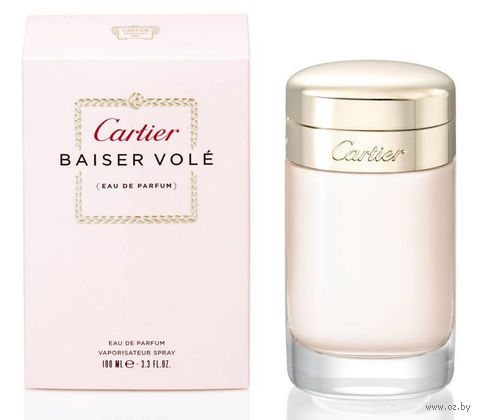 "Парфюмерная вода для женщин Cartier ""Baiser Vole"" (100 мл)"