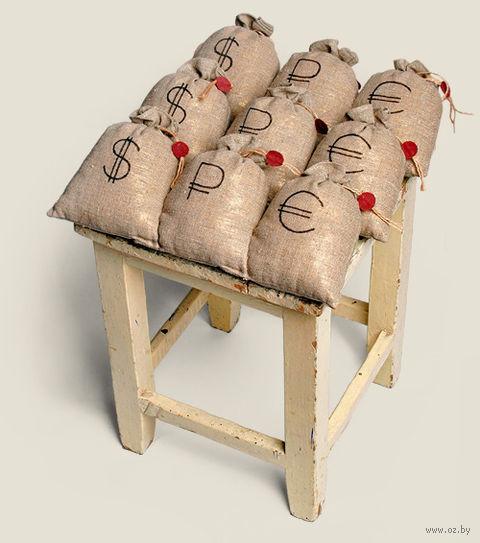 """Сидушка на стул """"Денежный мешок"""""""