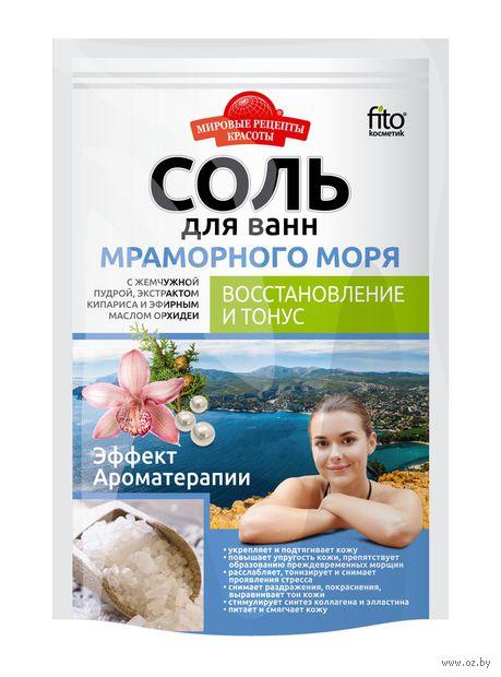 """Соль для ванн """"Восстановление и тонус"""" (500 г) — фото, картинка"""